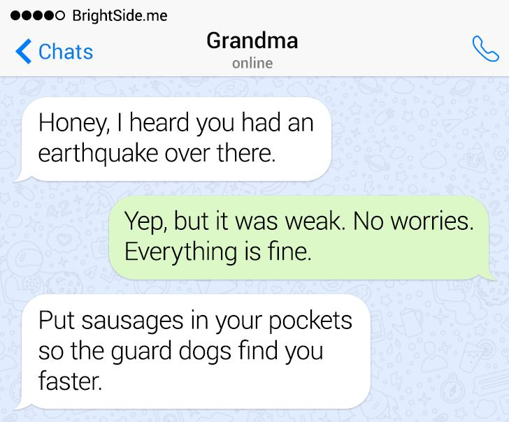12 Texts From Relatives With Surprise Endings Worthy of an Agatha Christie Novel