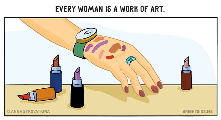12wonderfully amusing illustrations every woman will understand