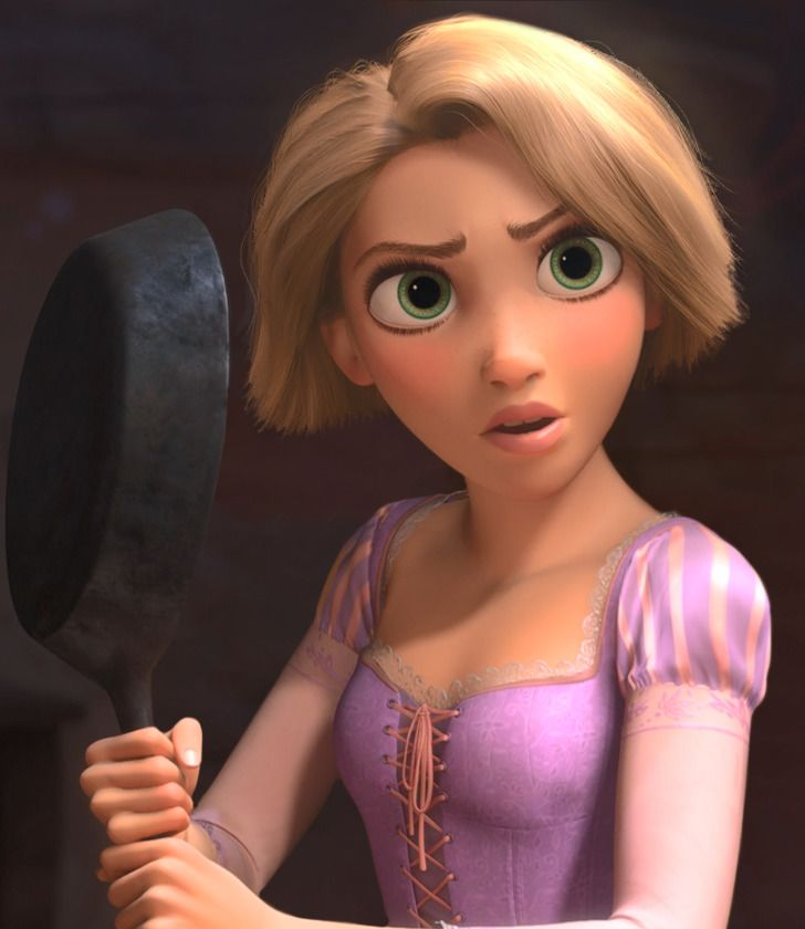What Disney Princesses Would Look Like With Short Hair Ready To See Rapunzel