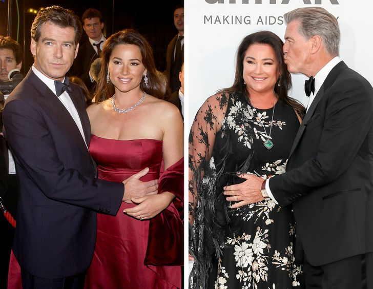 Younger hollywood man older woman couples Famous Men