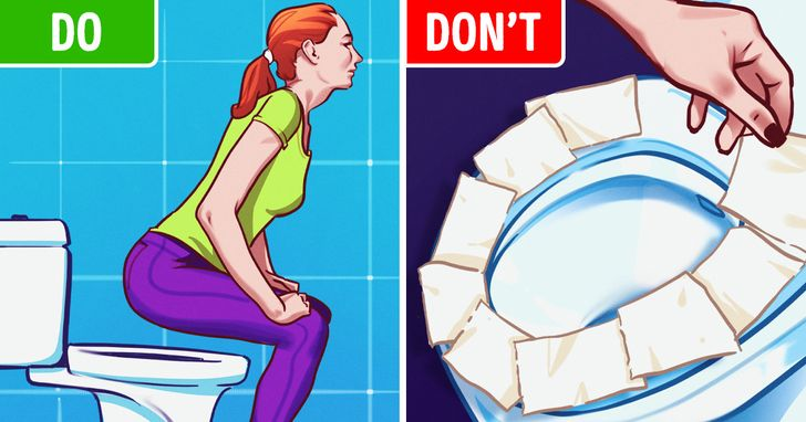 We Need to Stop Putting Toilet Paper Down Before Sitting on Public Toilets