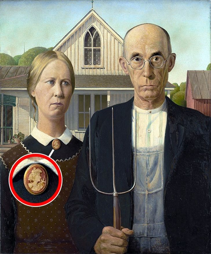 9Details WeNever Noticed inFamous Paintings