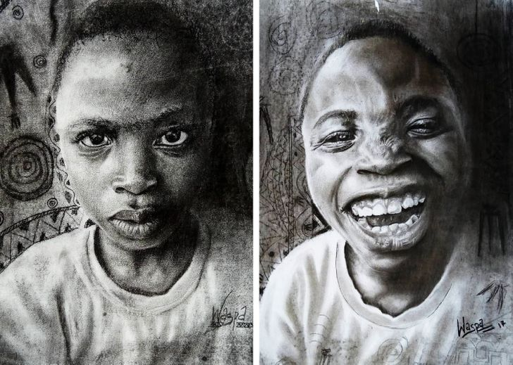 An11-Year-Old Boy Draws Hyperrealistic Pictures Making Even Adult Artists Jealous