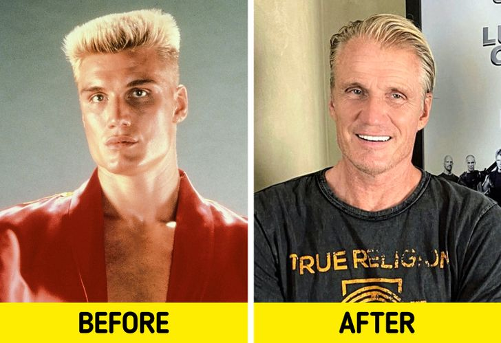 What 12 Actors From Action Movies That Made Us All Sigh Look Like Today