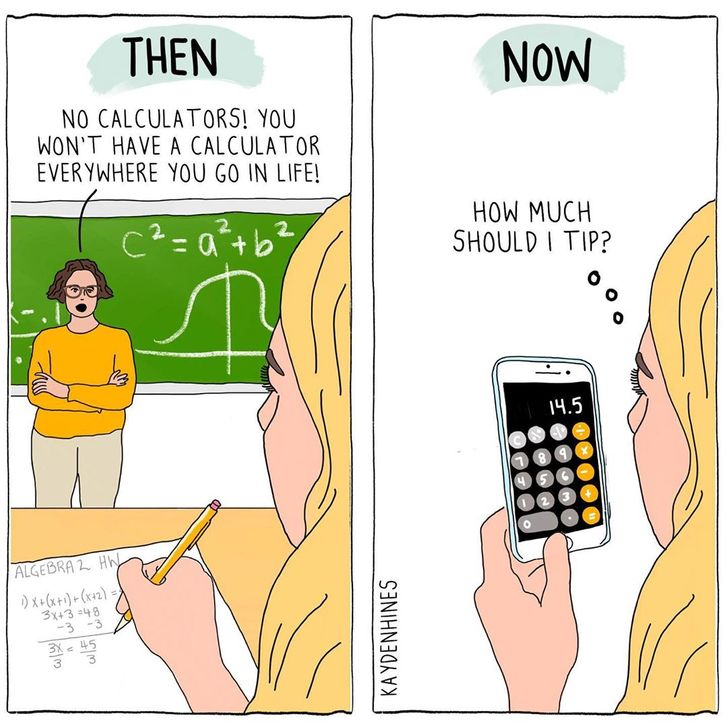 Illustrator Leaves Office to Draw Daily Struggles, and the Result Is Painfully True