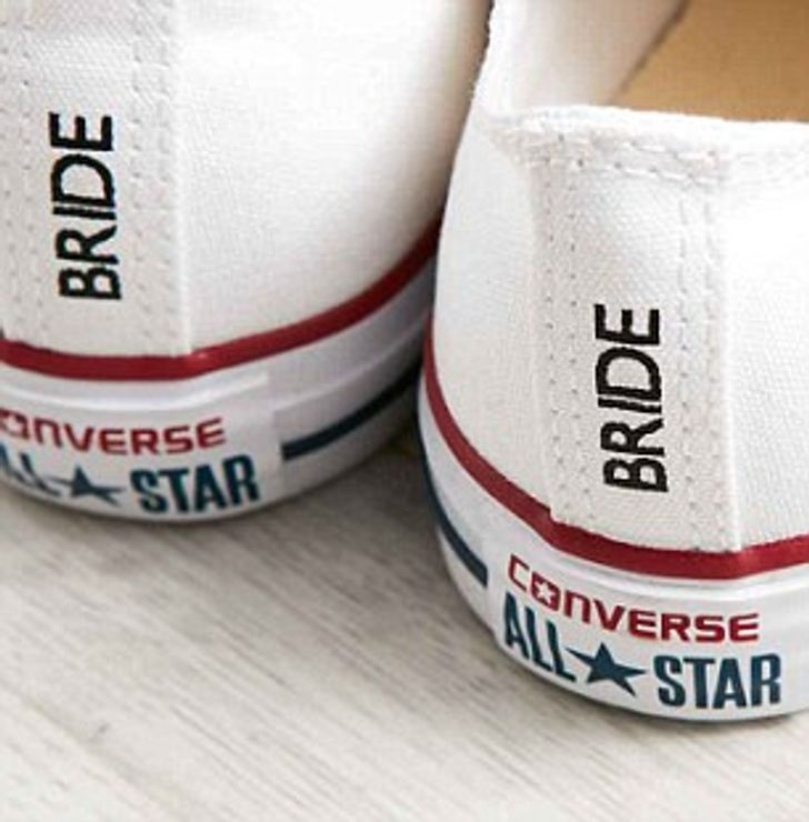 A Famous Brand Launches Wedding Sneakers for Brides Who Hate High Heels, and It's Time to Kiss Sore Feet Goodbye