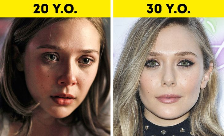 Looks younger woman 20 years Celebs In