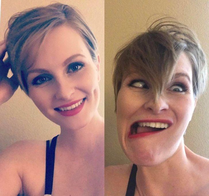 Girls looking ugly pretty Pretty girls