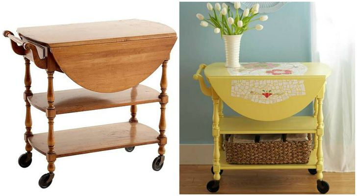 15great ideas for turning your old furniture into beautiful new objects