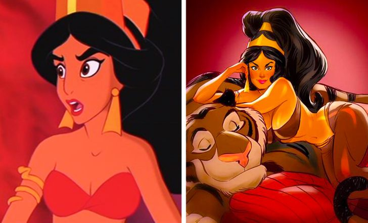 An Artist Turns Cartoon Characters Into Hot Beauties Like We Haven T Seen Them Before