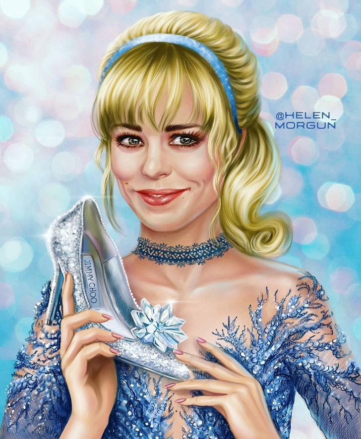 20+ Celebs Illustrated as Beloved Cartoon Characters
