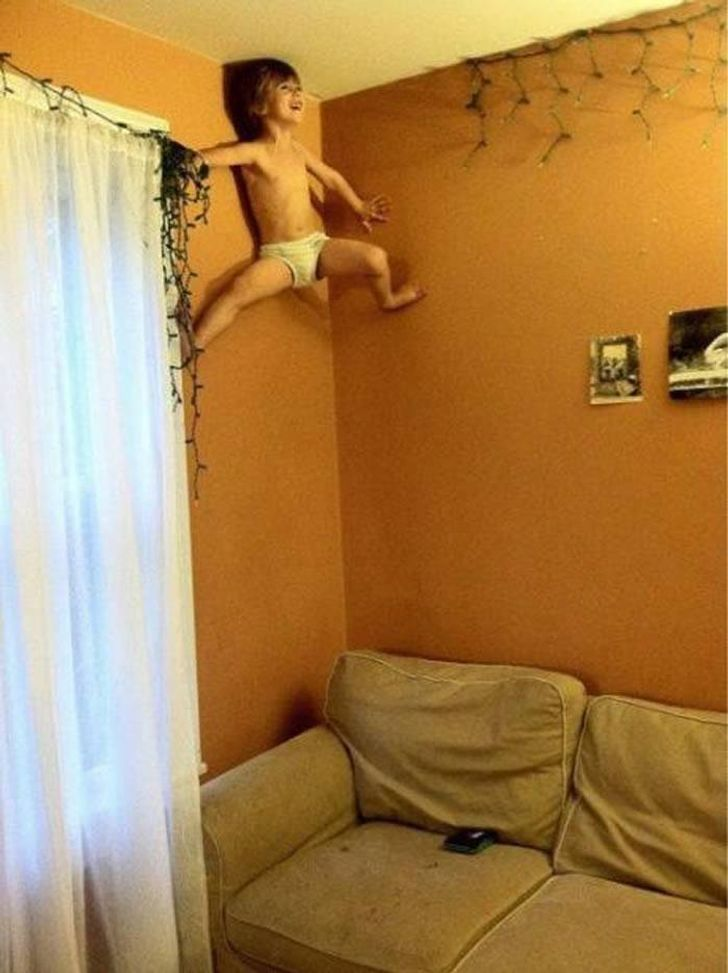 20+Photos Proving That Kids Are anInexhaustible Source ofEntertainment