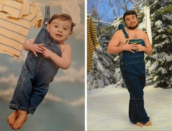 Bright Siders Recreated 20 Old Photos That Ignited Our Sense of Nostalgia