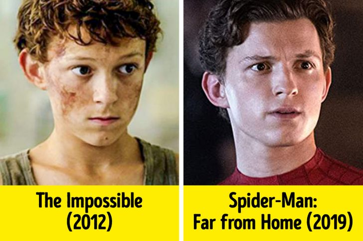19 Superbohaterów, którzy wyglądali zupełnie inaczej, kiedy zaczęli działać