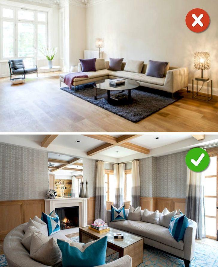 16Mistakes WeMake inLiving Room Design