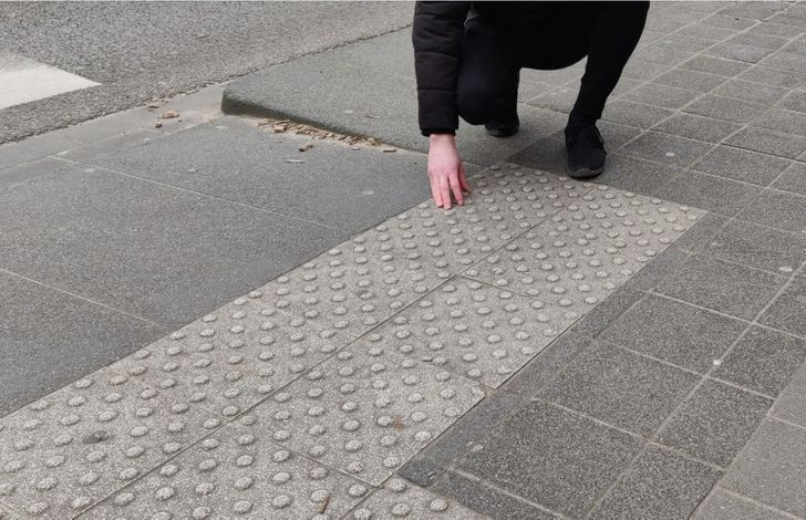 What Those Bumps on the Sidewalk Are Really For