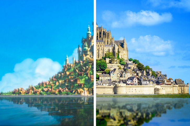 11 Magical Places That Inspired Fairy Tale Movies