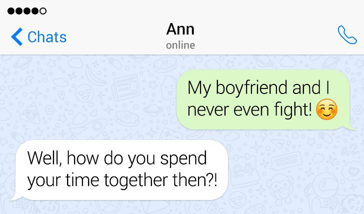 12 Unexpected Messages From Girlfriends That Can Compete With Any Movie