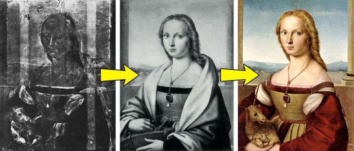 Old paintings of women