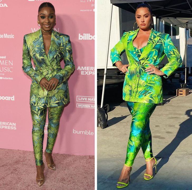 14 Celebrities Who Wore Identical Outfits But Still Shined Different