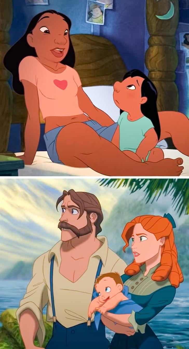 © Lilo and Stitch/ Walt Disney Animation Studios, © Tarzan/ Walt Disney Animation Studios