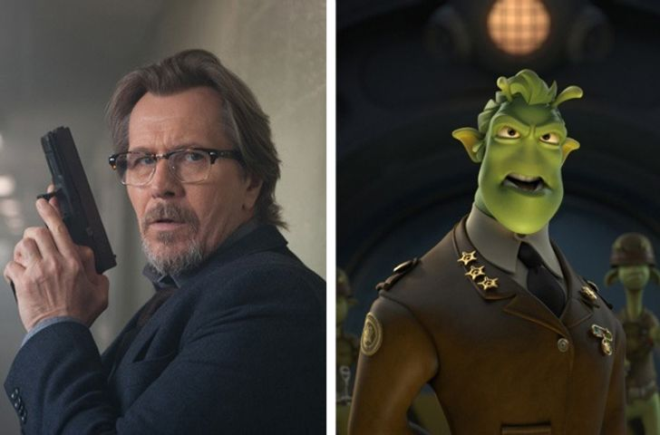 16animated movie characters who were based onHollywood actors