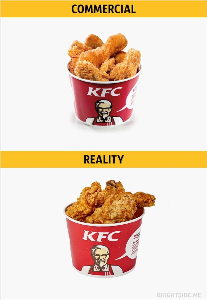 Expectation Vs Reality Food