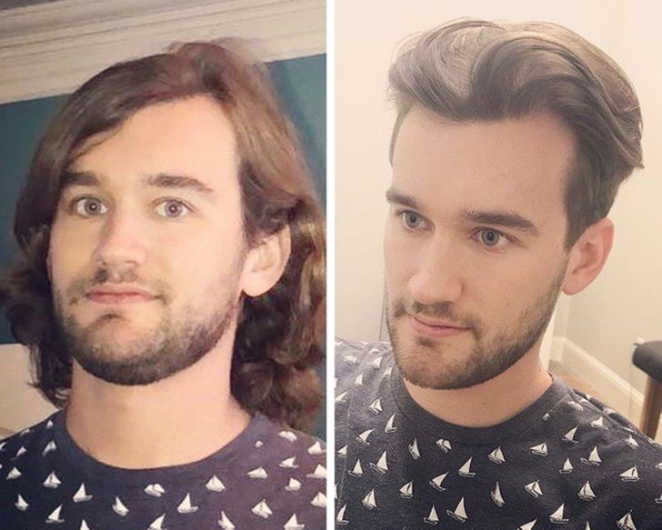 20 Guys Who Cut Off Their Long Hair, and Now They Look Like Super Stars