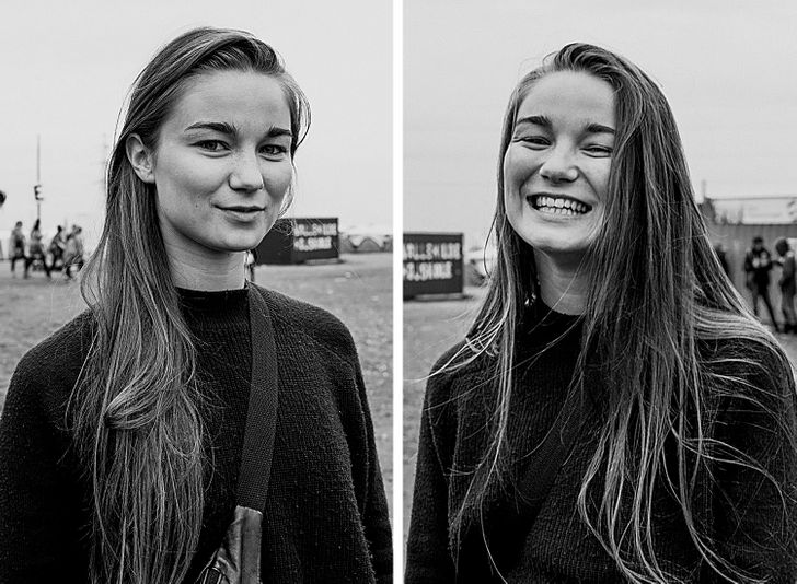 AWoman Takes Photos ofPeople Right After She Kisses Them, and Their Faces Speak Louder Than Words