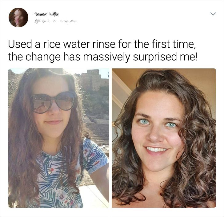 Why Rice Water Can Be a Lifesaver for Damaged Hair, and How to Use It Correctly