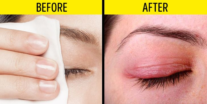 Jangan menghapus makeup dengan tisu