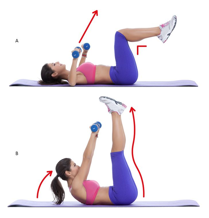 10Exercises toGet Rid ofBack and Armpit Fat in20Minutes