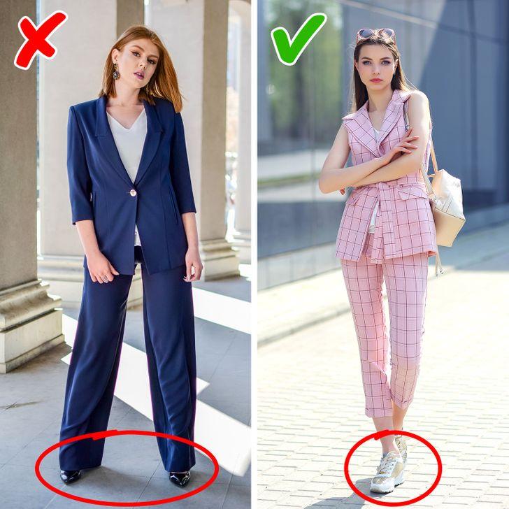 12 detaje të modës që mund t'ju bëjnë të dukeni më të moshuar