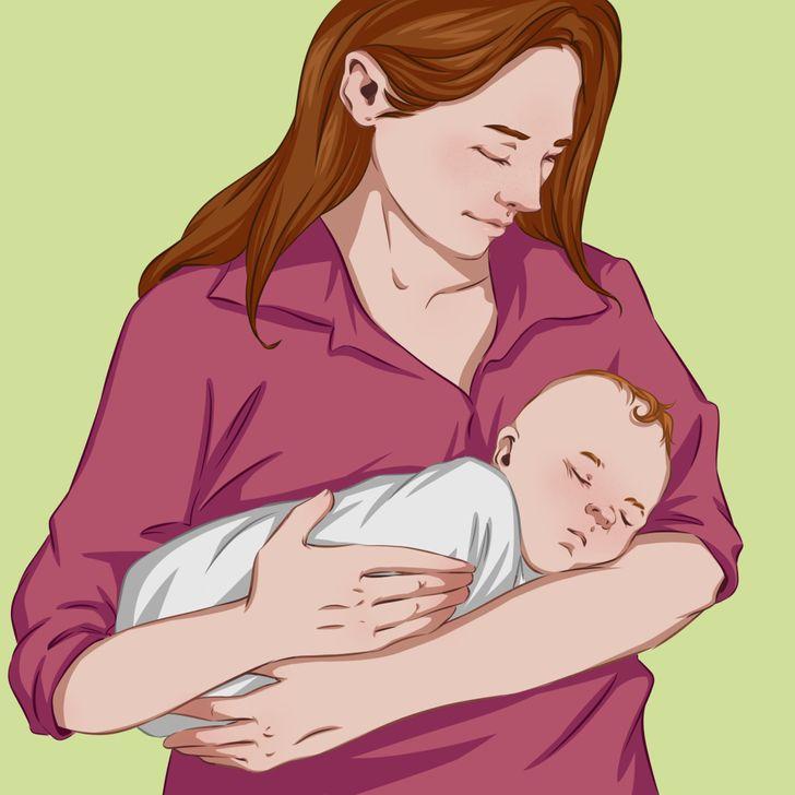 Bebeği Sakinleştirmek ve Uyutmak İçin 8 Taktik!