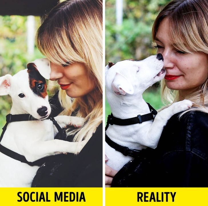 """A Woman Reveals the Truth Behind Those """"Perfect"""" Images on Social Media"""