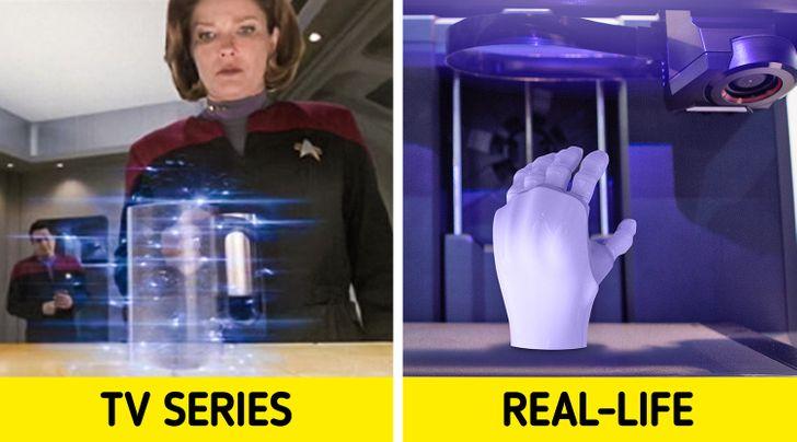 Ponad 10 wynalazków, które kiedyś były częścią fikcyjnej historii, ale w końcu dały się wciągnąć w rzeczywistość