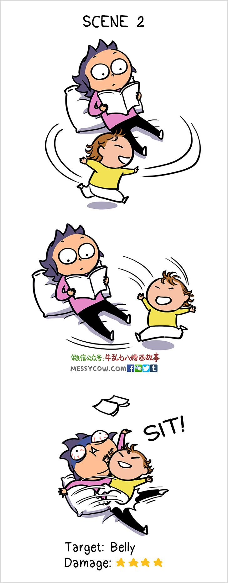 AMother Illustrates the Pain ofRaising aChild, and ItMade UsCry and Laugh atthe Same Time