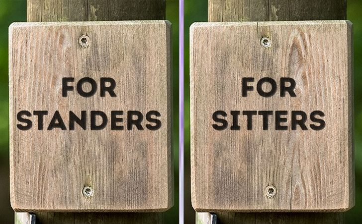 16Toilet Signs Clearly Identifying Genders