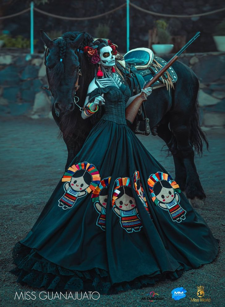 20 Traditional Costumes From Miss Mexico 2020 That Left Us Awestruck
