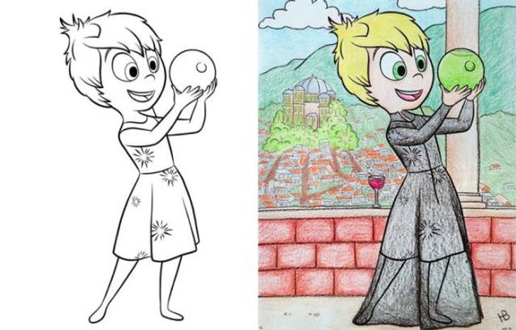 - 23 Times Adults Were Better Than Kids At Colouring Books