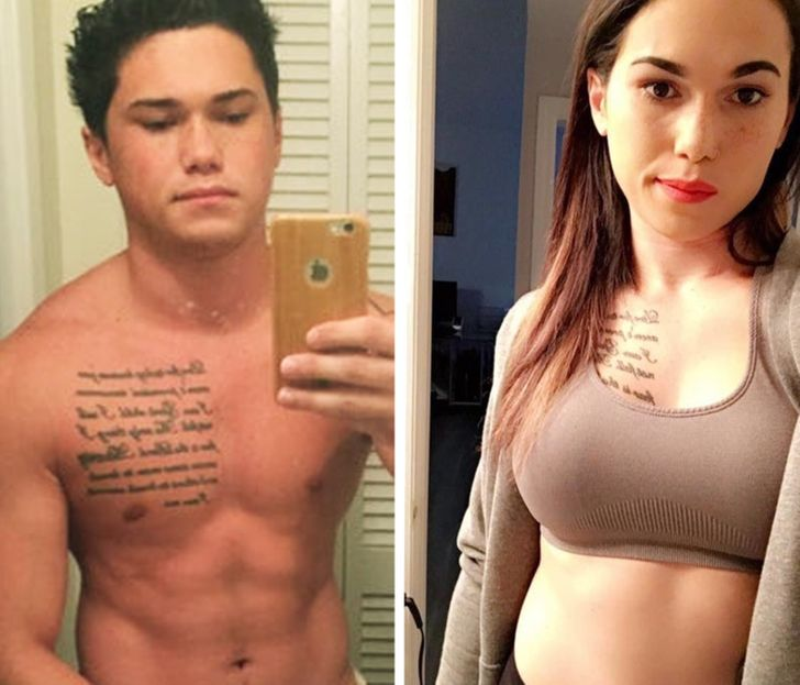 16 Photos of People Who Changed Their Gender and Became Their True Selves