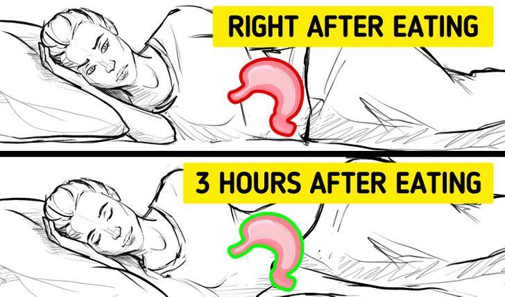 Čo sa stane, keď si hneď po jedle zdriemnete