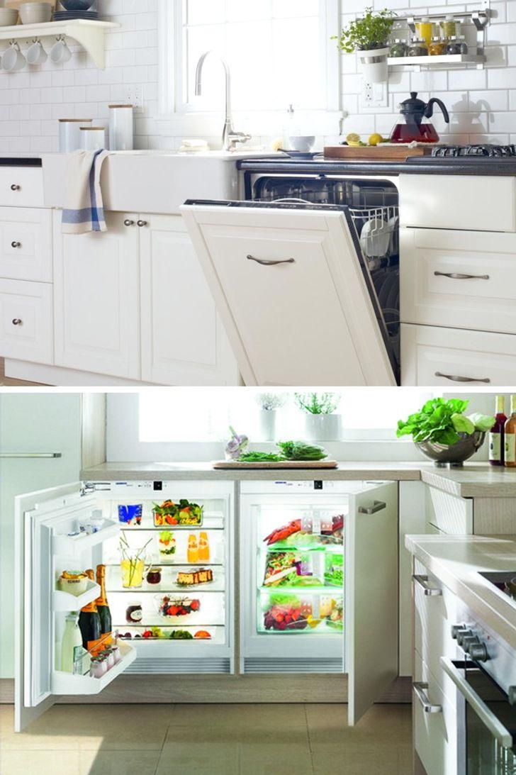 13 Smart Ideas To Make A Small Kitchen Feel Bigger