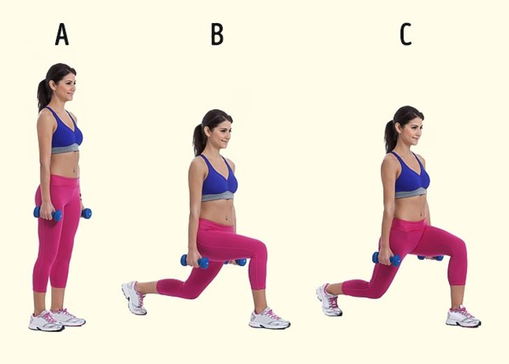 7Simple Exercises for Perfect Buttocks, Thighs, and Legs
