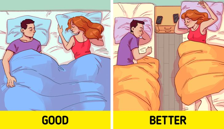 Why More Happy Couples Prefer to Sleep in Separate Beds