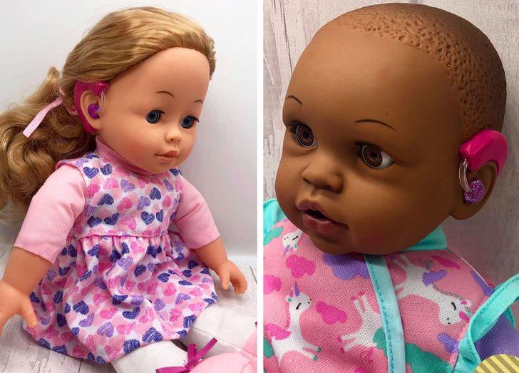 Mama produkuje lalki, które pomagają dzieciom niepełnosprawnym zaakceptować samych siebie