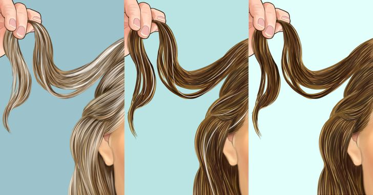 Beyaz Saçları Siyah Yapmak İçin 5 Yöntem!