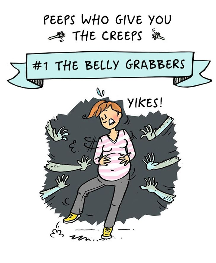 5 Comics About How Fun It Is to Become a Mom