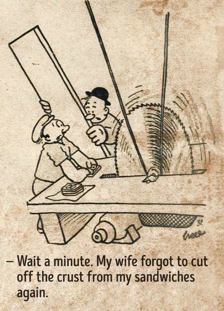 18Comics Proving That People's Lives From the Previous Century Were NoDifferent toOurs
