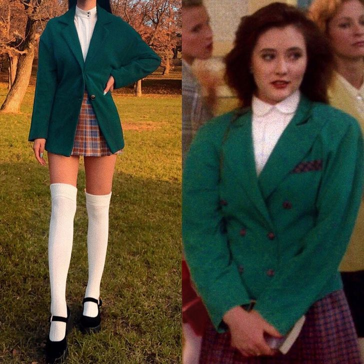 Hungarian Blogger Recreates Iconic Looks Inspired By Movies and TV Shows